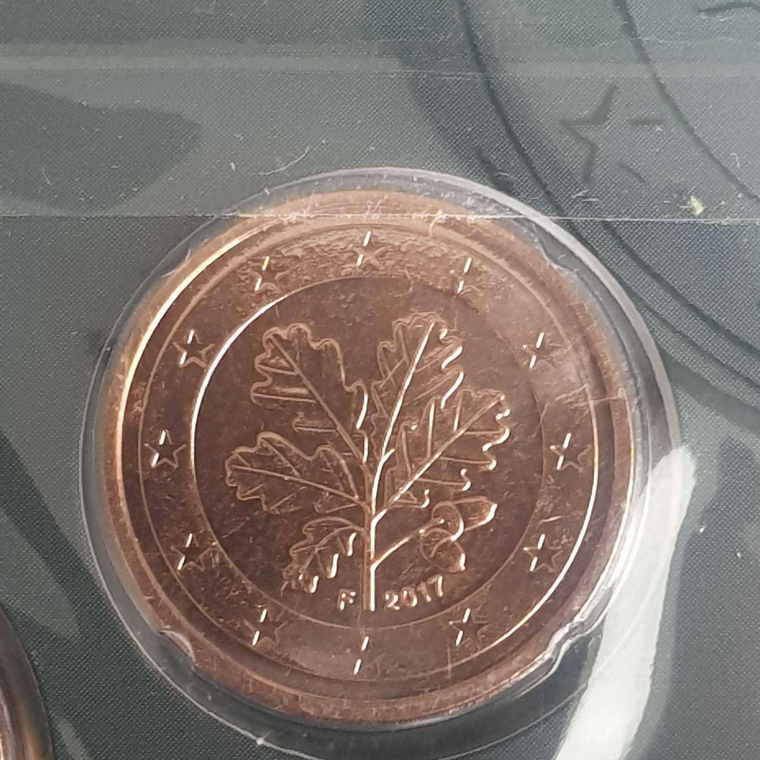 .02 Centavos De Euro Coin - $.02 (2017) back image (back cover, second image)