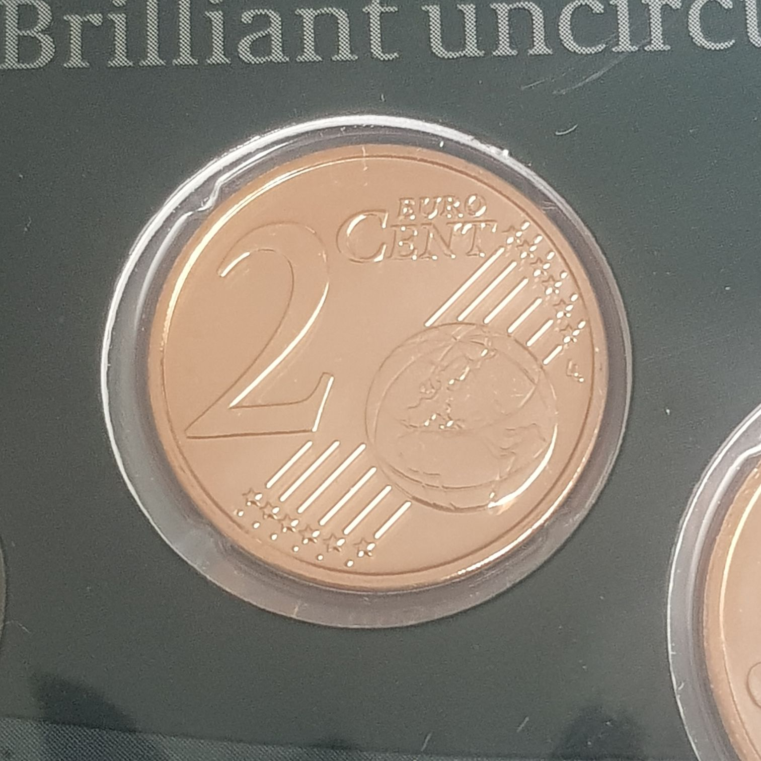 .02 Centavos De Euro Coin - $.02 (2017) front image (front cover)