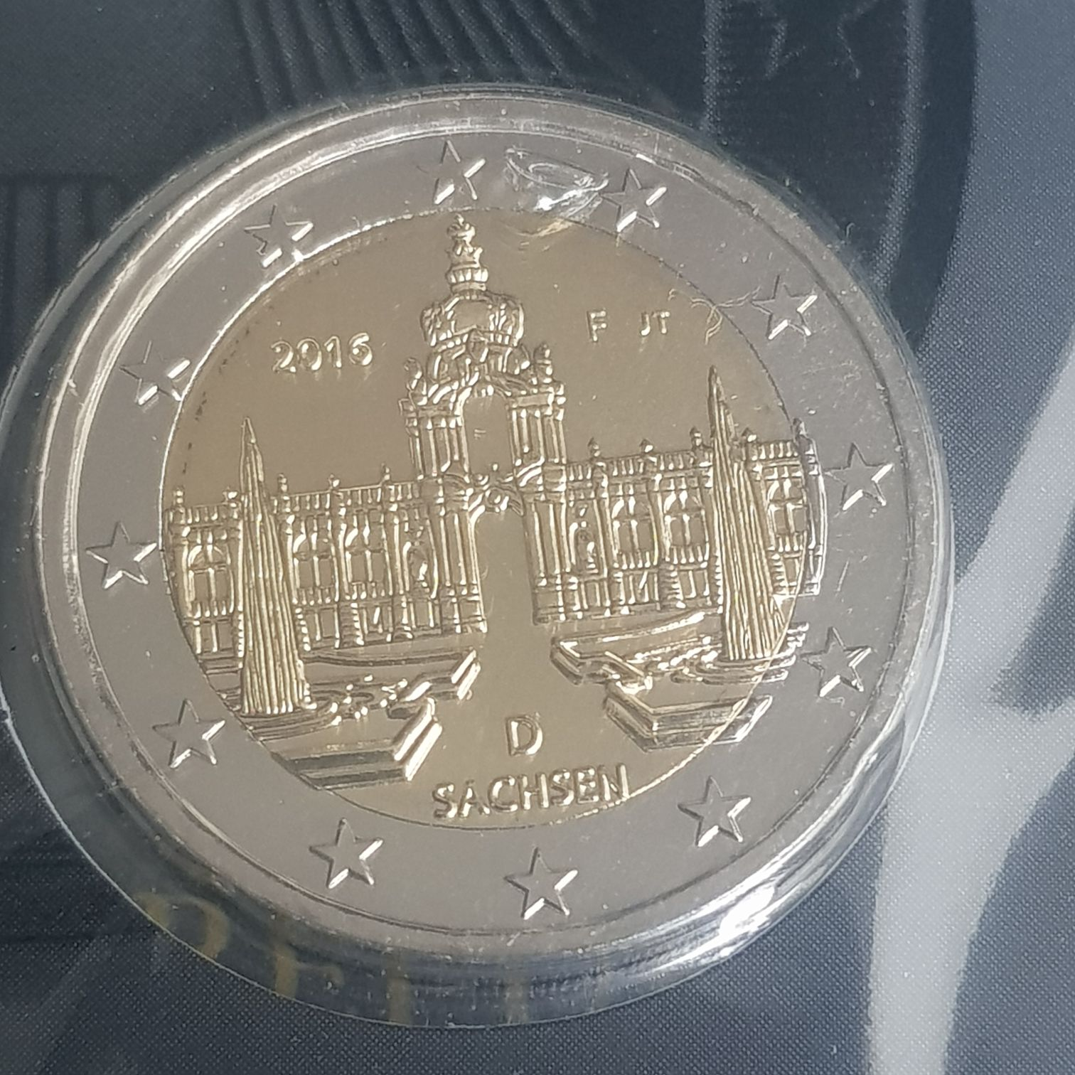 2 Euros Coin - $2 (2016) back image (back cover, second image)