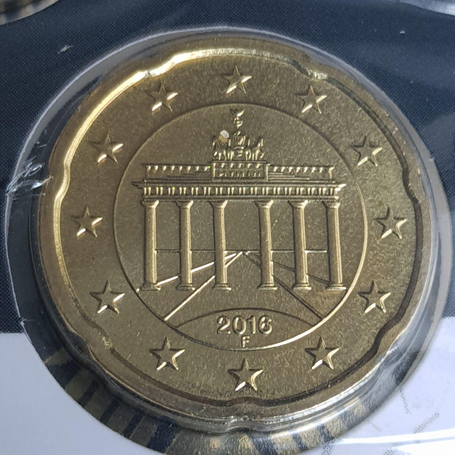 .2 Centavos De Euro Coin - $.20 (2016) back image (back cover, second image)