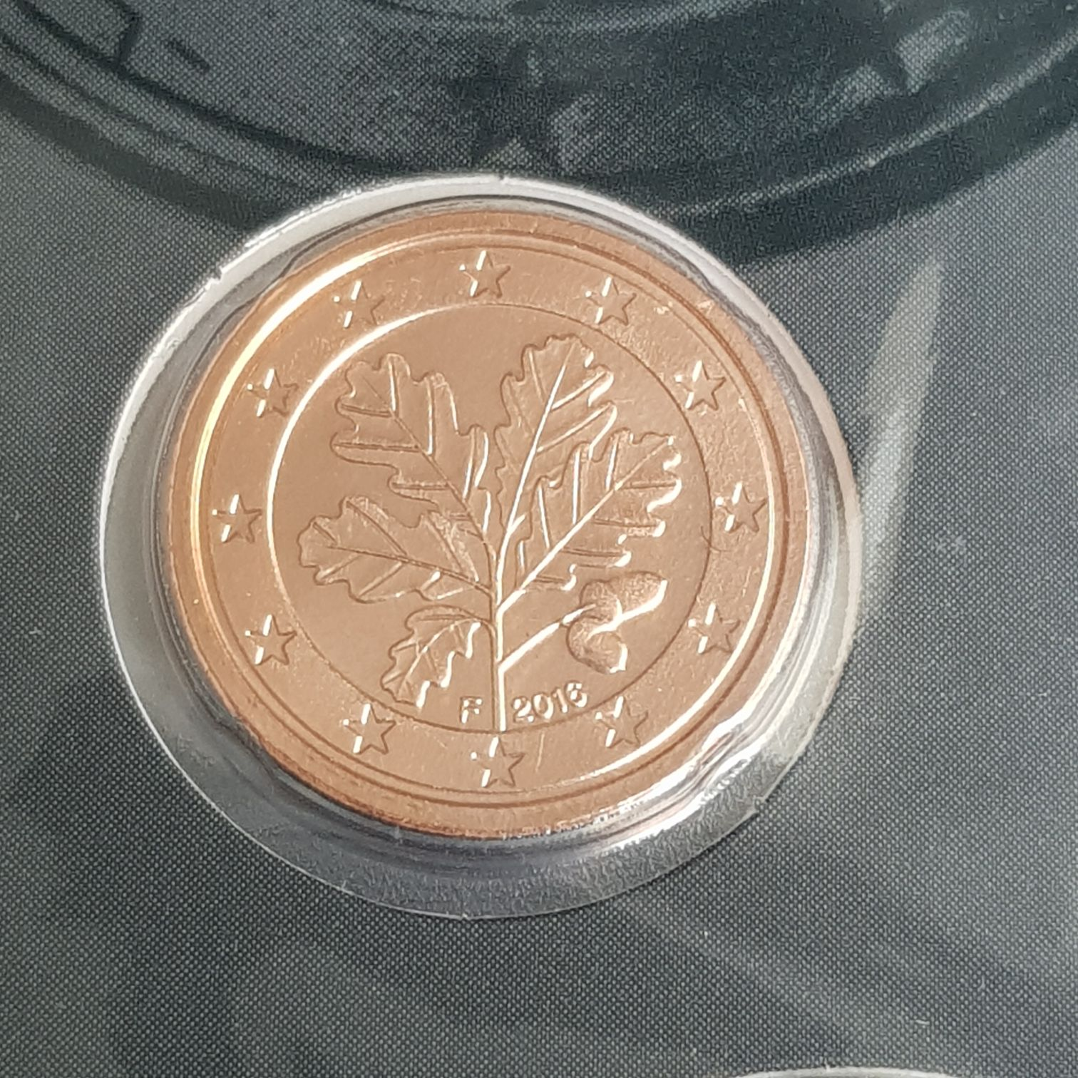 .01 Centavo De Euro Coin - $.01 (2016) back image (back cover, second image)