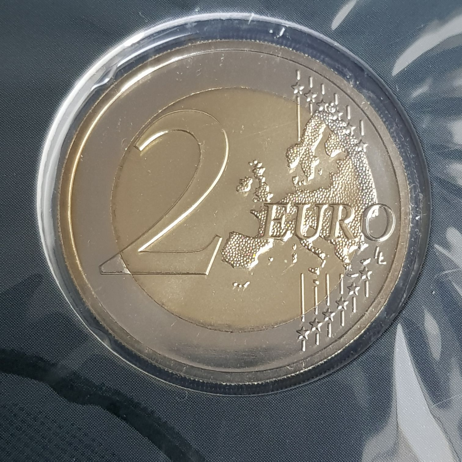 2 Euros Coin - $2 (2015) front image (front cover)