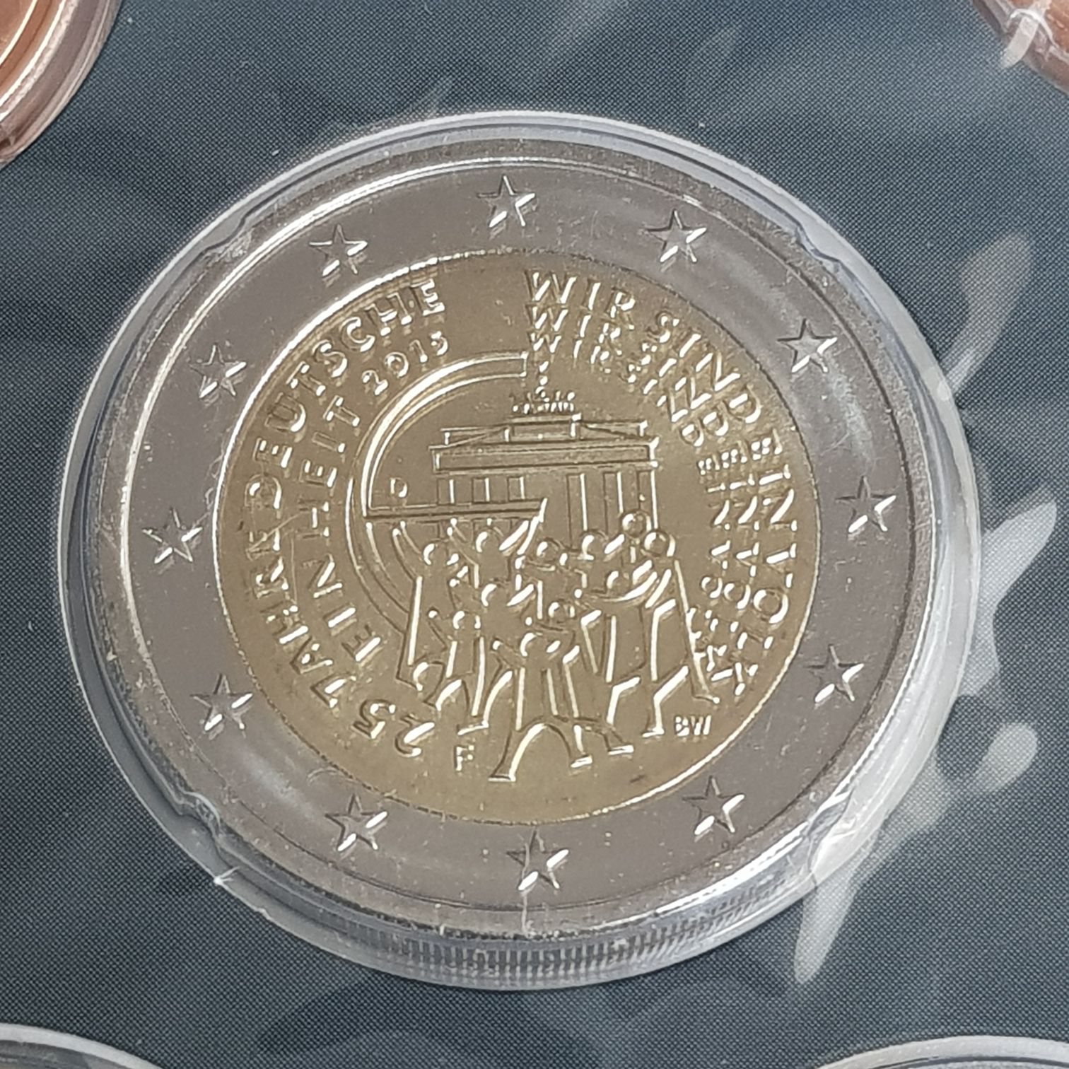 2 Euros Coin - $2 (2015) back image (back cover, second image)