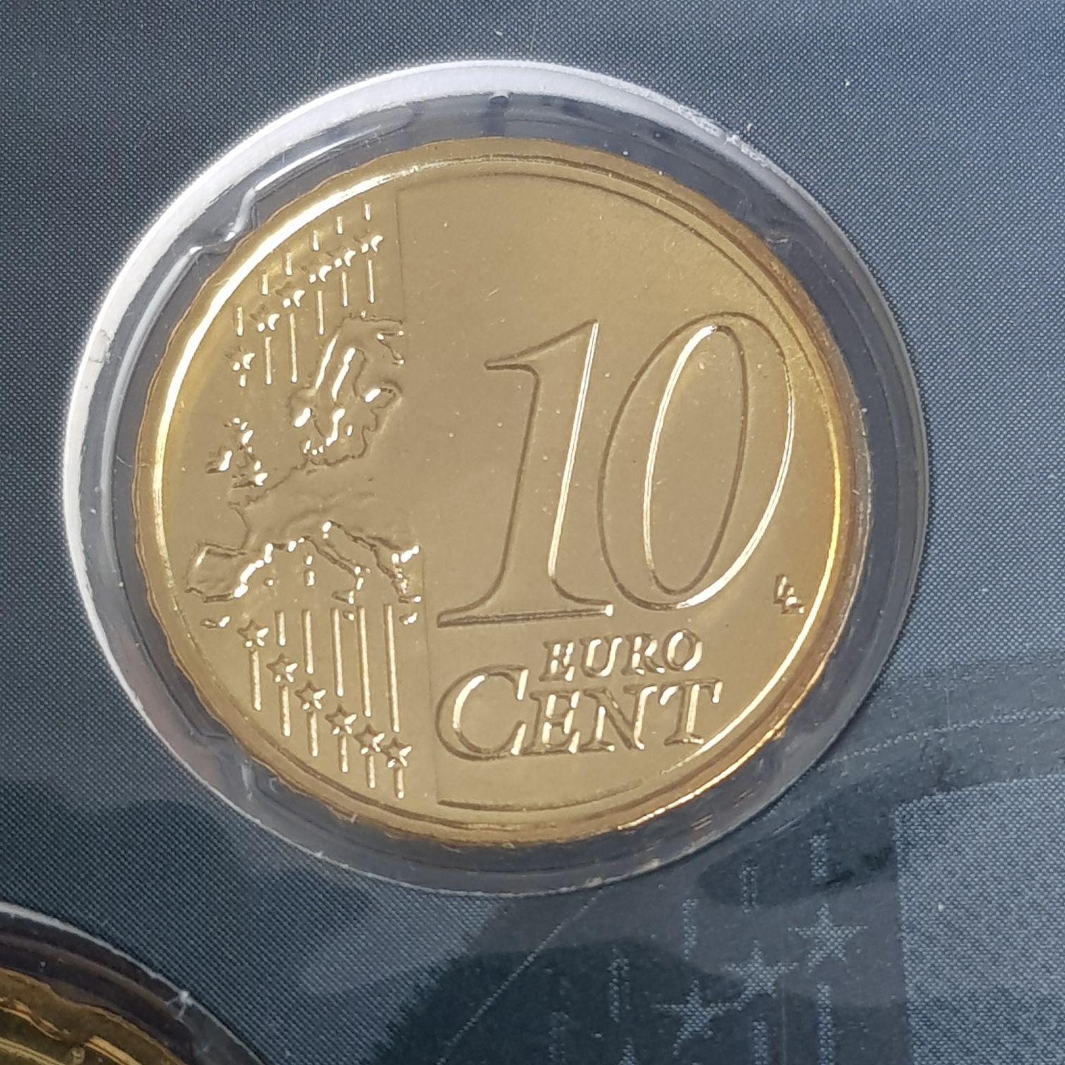 .1 Centavo De Euro Coin - $.10 (2015) front image (front cover)