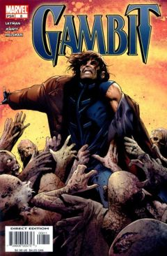 Gambit Comic Book (8) front image (front cover)