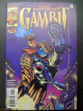 Gambit Comic Book (25) front image (front cover)