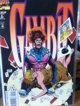 Gambit Comic Book - Marvel (2) front image (front cover)