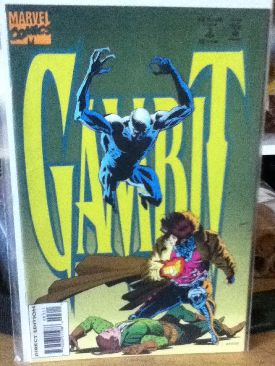 Gambit Comic Book - Marvel (3) front image (front cover)