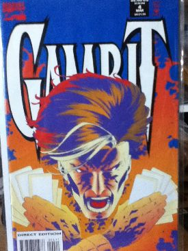 Gambit Comic Book - Marvel (4) front image (front cover)