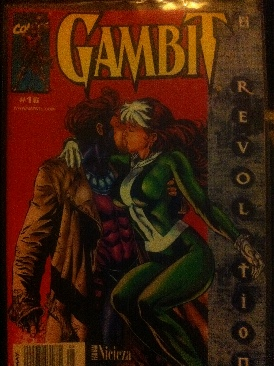 Gambit Comic Book (016) front image (front cover)