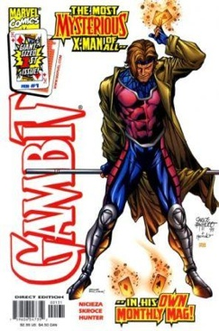 Gambit Comic Book - Marvel (1) front image (front cover)