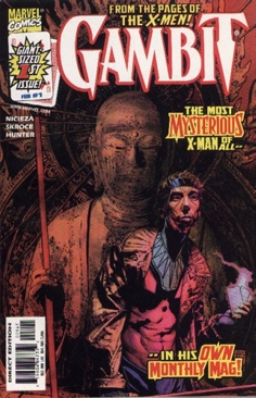 Gambit Comic Book - Marvel (001) front image (front cover)