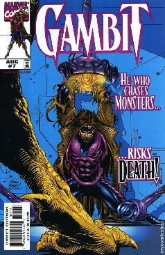 Gambit Comic Book - Marvel (7) front image (front cover)
