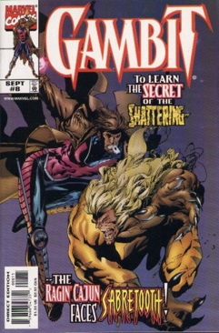 Gambit Comic Book - Marvel (8) front image (front cover)