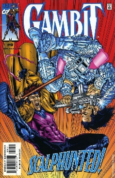 Gambit Comic Book - Marvel (9) front image (front cover)