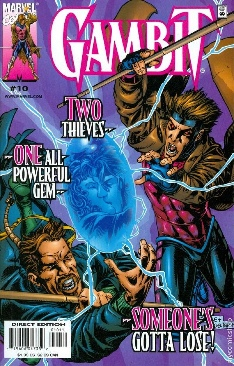 Gambit Comic Book - Marvel (10) front image (front cover)