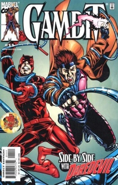 Gambit Comic Book - Marvel (11) front image (front cover)