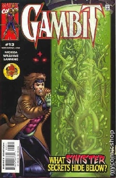 Gambit Comic Book - Marvel (13) front image (front cover)