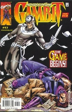 Gambit Comic Book - Marvel (17) front image (front cover)