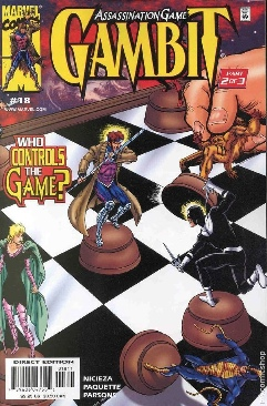 Gambit Comic Book - Marvel (18) front image (front cover)