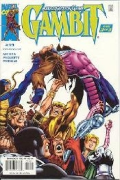 Gambit Comic Book - Marvel (19) front image (front cover)