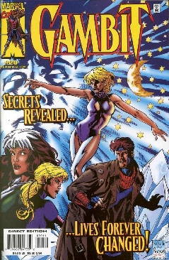 Gambit Comic Book - Marvel (20) front image (front cover)