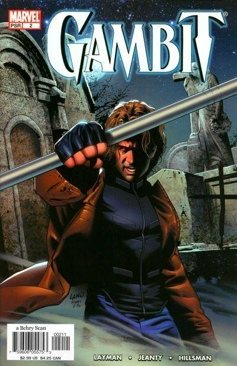 Gambit Comic Book (2) front image (front cover)