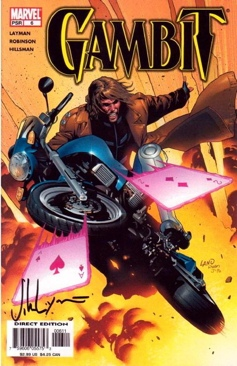 Gambit Comic Book - Marvel (6) front image (front cover)