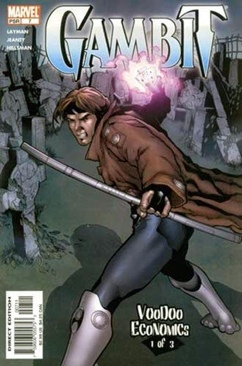 Gambit Comic Book (7) front image (front cover)