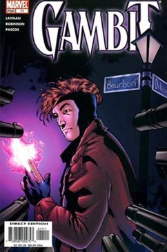 Gambit Comic Book (11) front image (front cover)