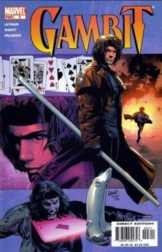 Gambit Comic Book (3) front image (front cover)