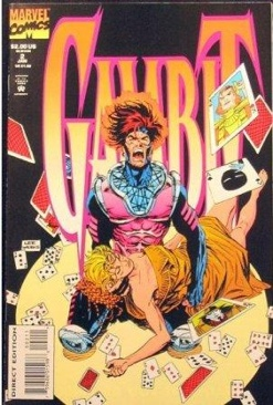 Gambit Comic Book - Marvel Comics (2) front image (front cover)
