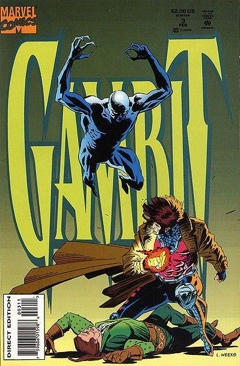 Gambit Comic Book - Marvel Comics (3) front image (front cover)