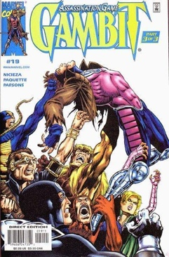 Gambit Comic Book (19) front image (front cover)