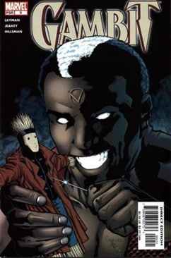 Gambit Comic Book (9) front image (front cover)