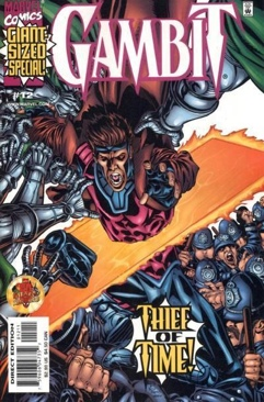 Gambit Comic Book (12) front image (front cover)