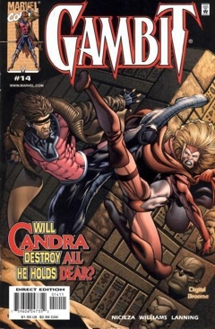Gambit Comic Book (14) front image (front cover)