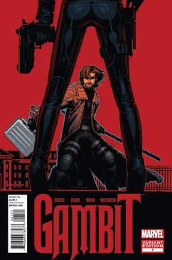 Gambit Comic Book (001) front image (front cover)