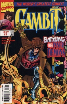 Gambit Comic Book - Stan Lee (2) front image (front cover)