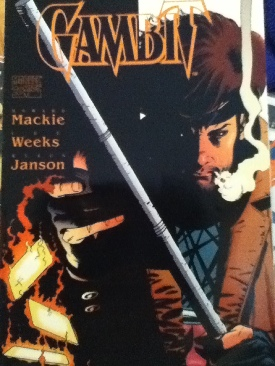 Gambit Comic Book - Marvel Comics (00) front image (front cover)