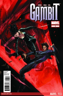 Gambit Comic Book - Alan Fine (4) front image (front cover)