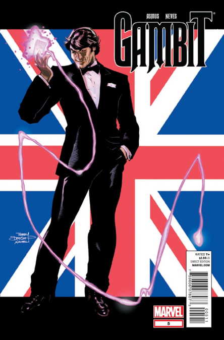 Gambit Comic Book (5) front image (front cover)