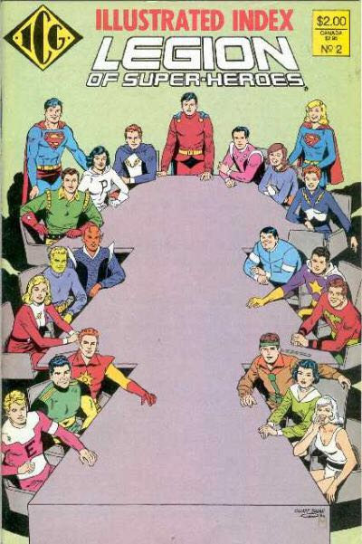 The Official Legion Of Super Heroes Index Comic Book