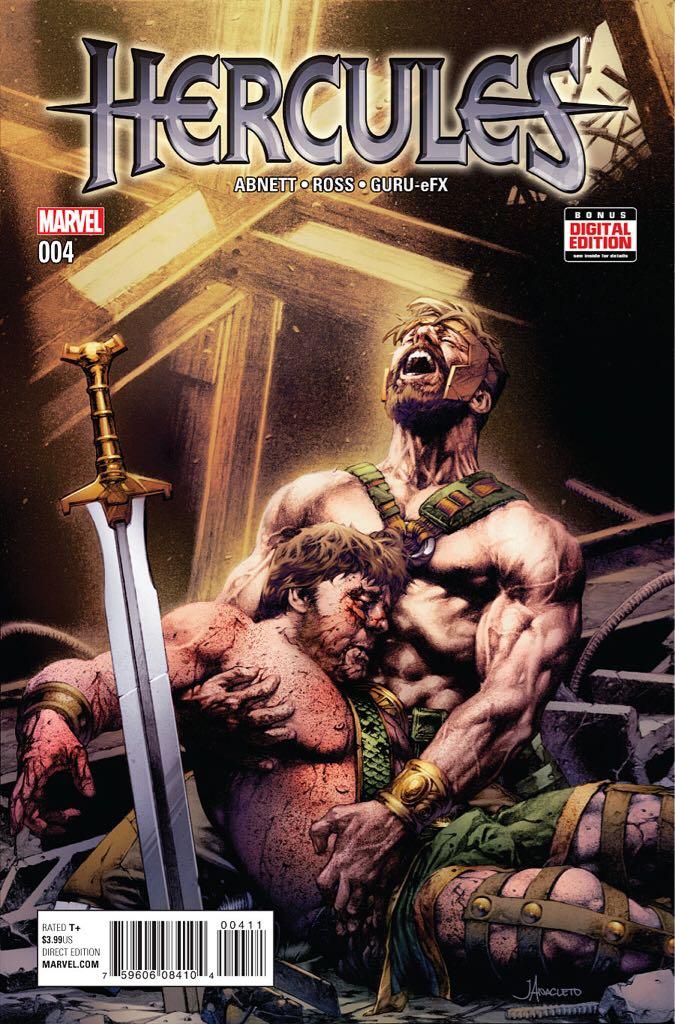 Hercules, Vol. 4 Comic Book - Buckley, Dan (4) front image (front cover)