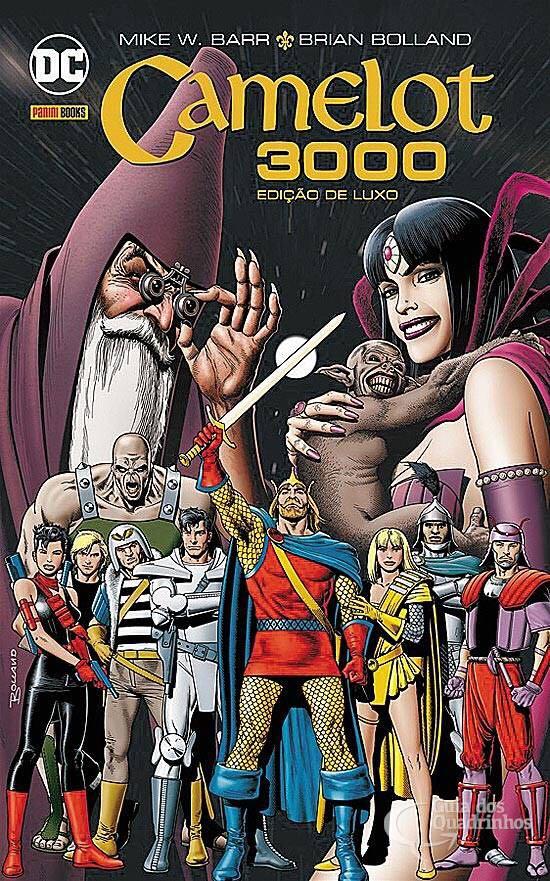 Camelot 3000 - Edição De Luxo Comic Book - DC Comics front image (front cover)