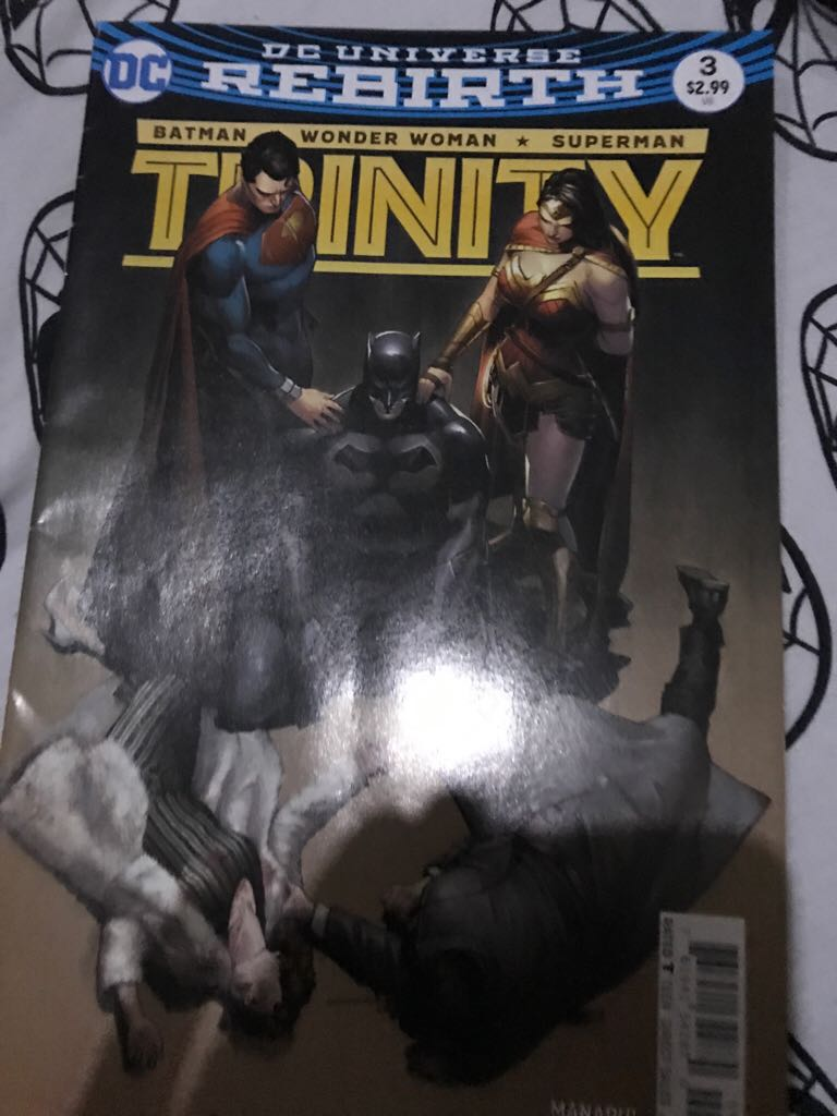 Dc Universe Rebirth: Trinity Comic Book (3) front image (front cover)