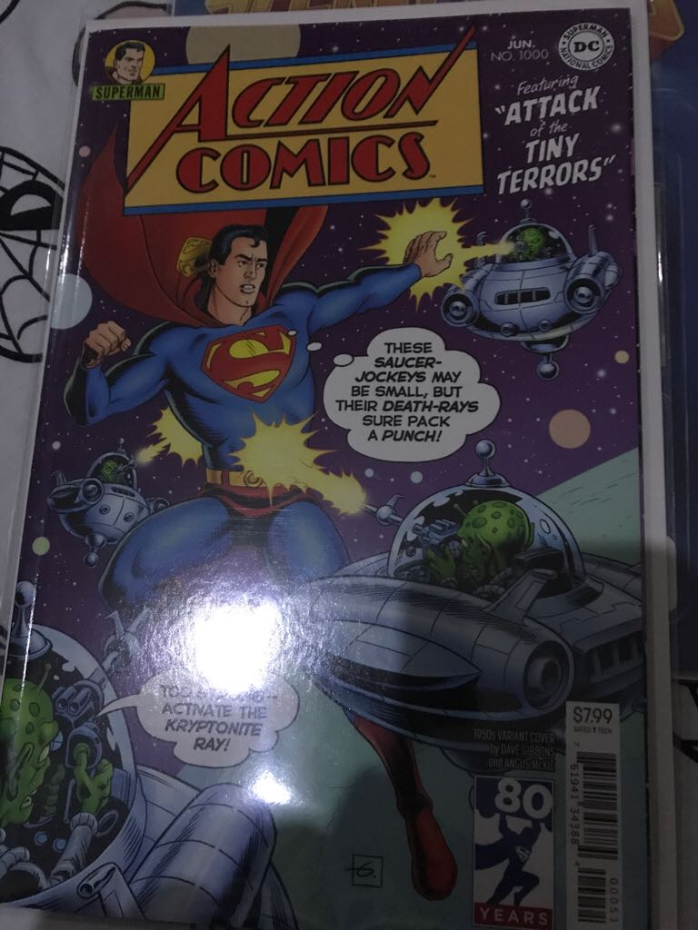 DC ACTION COMICS #1000 Comic Book (1000) front image (front cover)