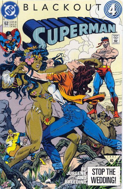 Blackout 4: Superman Comic Book (62) front image (front cover)