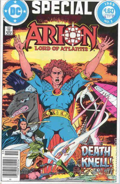 Arion Lord Of Atlantis Special Comic Book (1) front image (front cover)