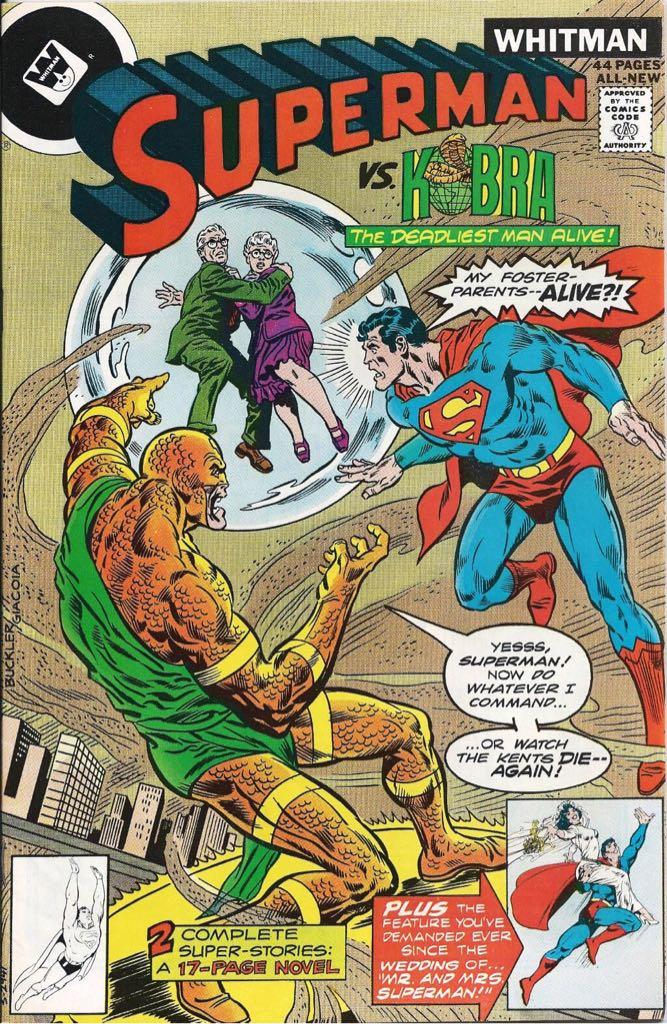 Superman Vs. Kobra Comic Book (327) front image (front cover)